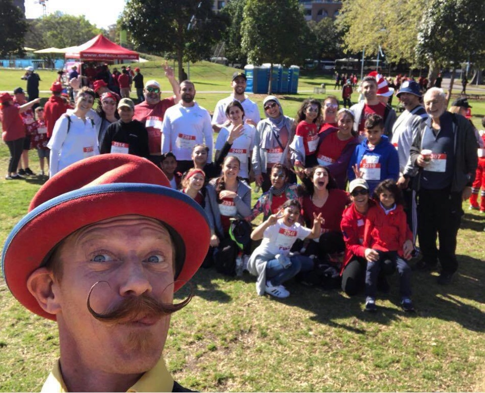 The BIG Red Kidney Walk
